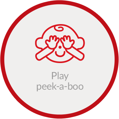 Play peek-a-boo
